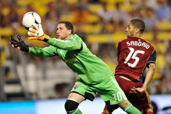 Alvaro Saborío no estuvo atinado para ayudar a su equipo y evitar el des...