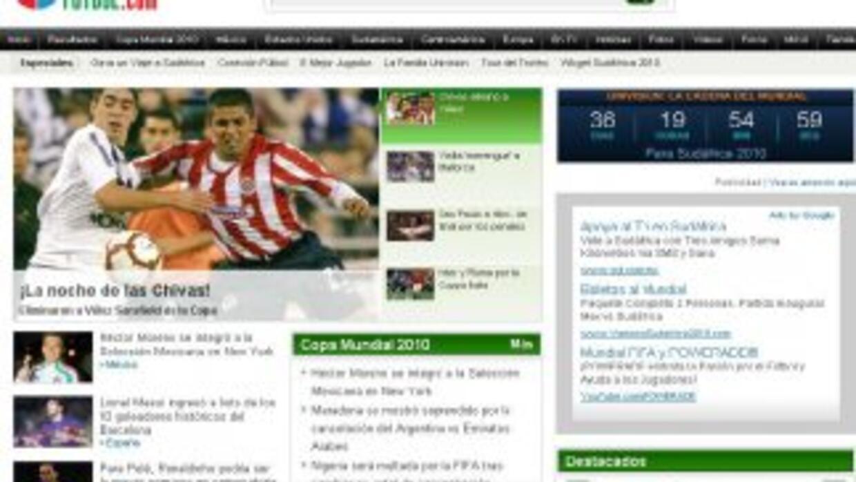 El nuevo diseño de Univision Futbol te brinda la cobertura más completa.