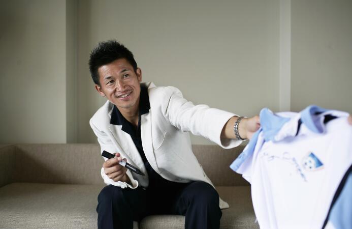 Este es Kazuyoshi Miura, inspirador de Oliver en Supercampeones y el fut...