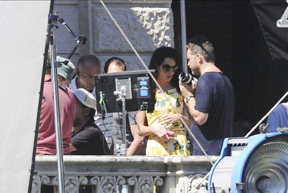 ¡Amal no perdió detalle de nada!