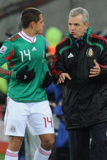 El 'Vasco' Aguirre lo utilizaba algunos minutos...pero Hernández fue gan...