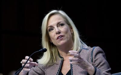 Kirstjen Nielsen, secretaria de Seguridad Nacional, testifica ante el Co...