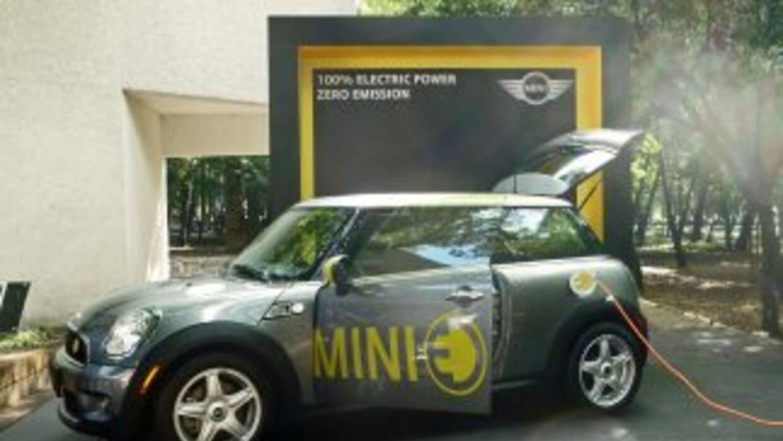 El MINI E llegó a México como parte de un proyecto de investigación para...