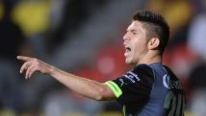 Oribe Peralta provocó un penal pero no pudo darle la victoria a Santos.