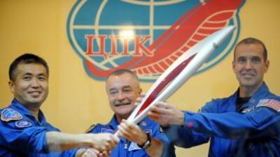 La antorcha olímpica viajará al espacio como un símbolo de la unidad de...