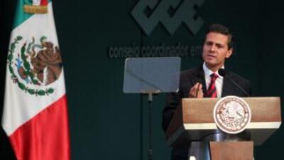 El presidente de México,Enrique Peña Nieto.