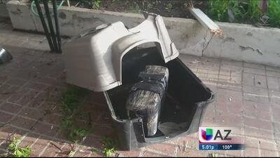 Droga cae del cielo en casa en Nogales