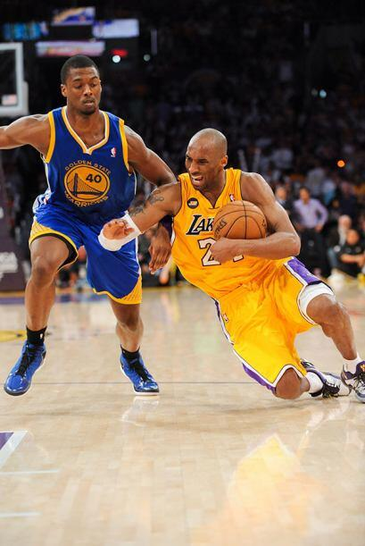 Kobe Bryant, Los Ángeles Lakers - La temporada de Bryant llegó a un repe...