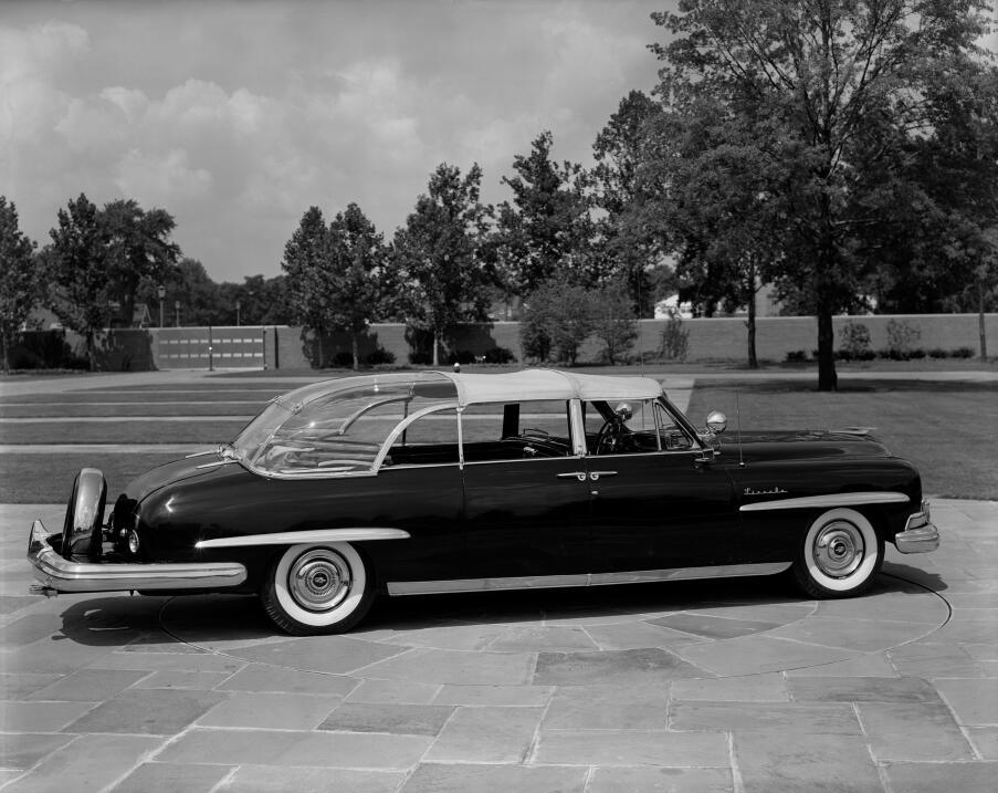 Donald Trump no estrena limusina en su inauguración 1954_LincPresidental...