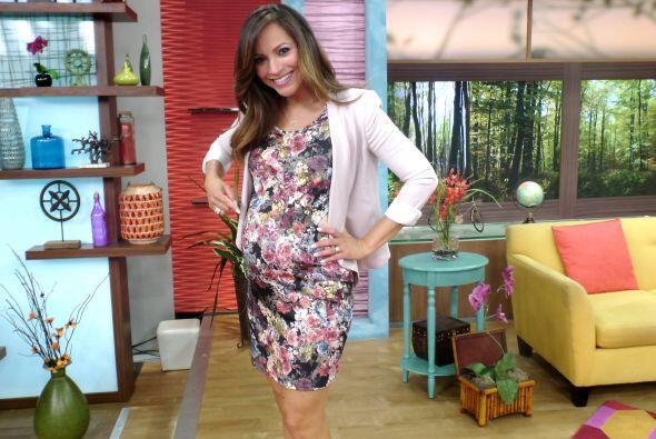 Así luce Satcha Pretto casi a punto de cumplir 35 semanas de emba...
