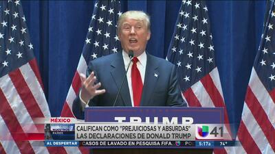 México responde a críticas de Trump