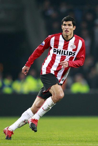 Francisco Rodríguez es uno de los titulares del PSV Eindhoven. y en este...