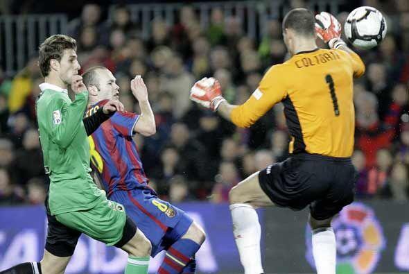 Siete minutos tardó el Barça en ponerse adelante, gracias a este gol de...