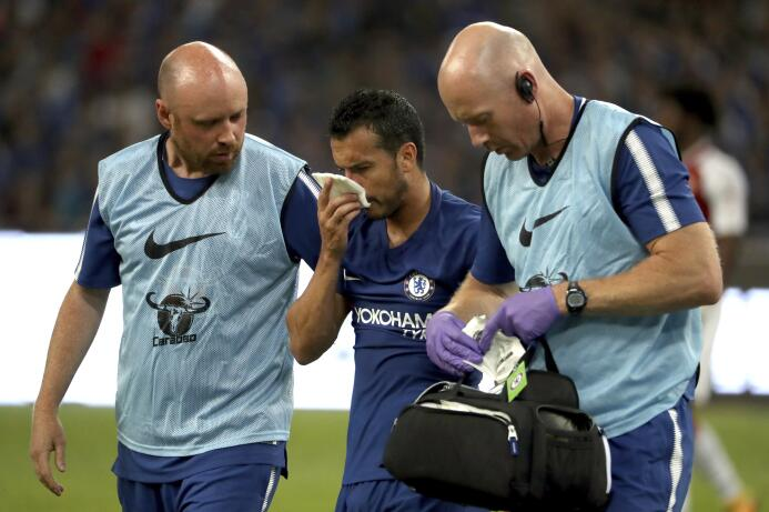 Al detalle: Así fue el golpe que le causó fracturas múltiples a Pedro en...