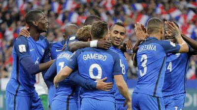 La fiesta de goles en la eliminatoria de fútbol europea