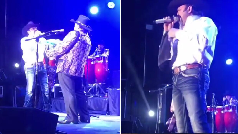 Ramón Ayala Jr cantó junto a su padre, 'El Rey del Acorde&...