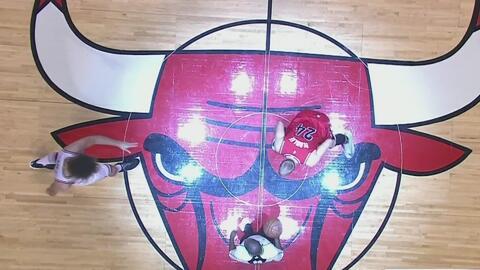 Chicago Bulls perdió 112-110 frente a Portland Trail Blazers en el Unite...