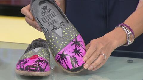 Joven mexicano presenta en Posible L.A. su negocio de zapatos hechos con...