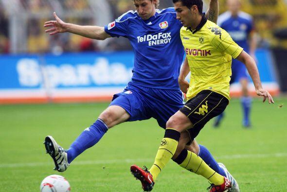 El Dortmund intentó remontar el marcador adverso, pero con el paso de lo...