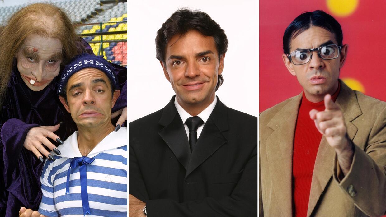 Eugenio Derbez personajes comicos