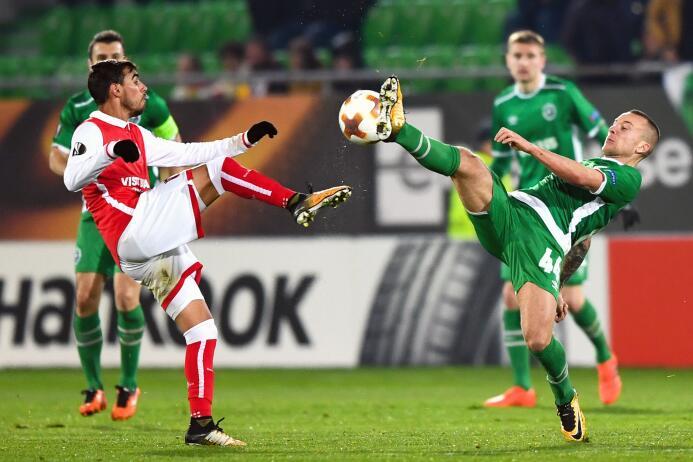 Ludogorets 1-1 Sporting Braga: primero y segundo del grupo C empataron e...
