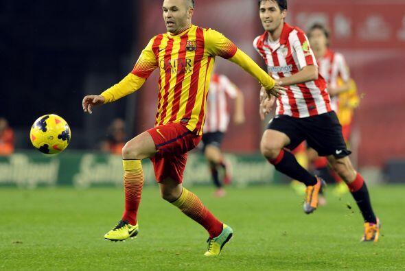Andrés Iniesta, el mayor responsable de generar juego para su club, no l...