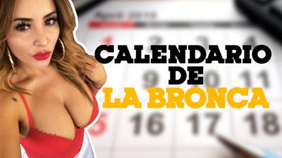 Un calendario con el toque 'Bronca Style'