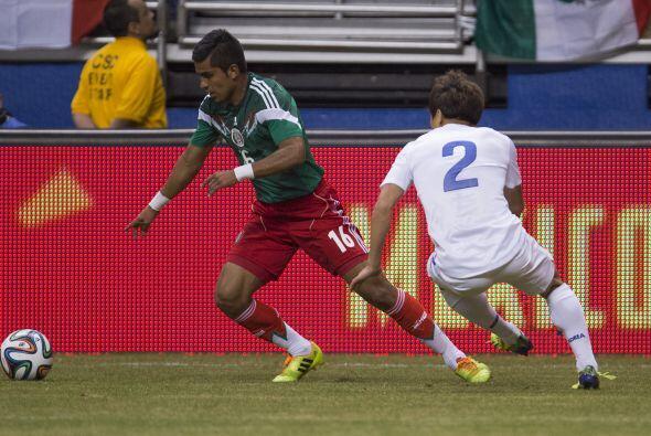 El otro lateral del Tri fue Miguel Ángel Ponce  quien volvió a la selecc...