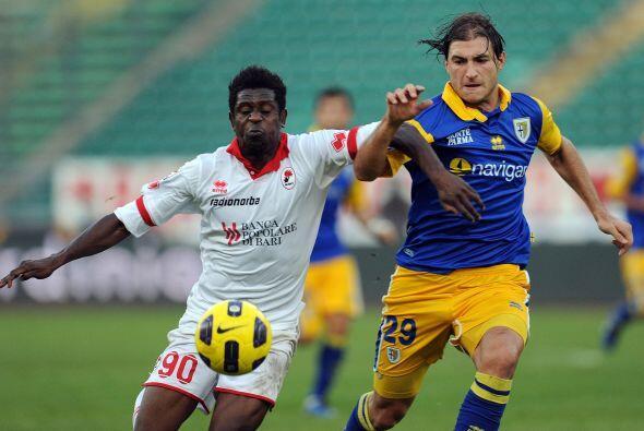 La reacción de últimas fechas del Parma continuó en su encuentro ante el...