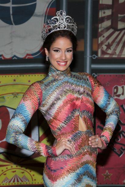 A la fiesta más 'cool' del verano no podían faltar las bellezas latinas....