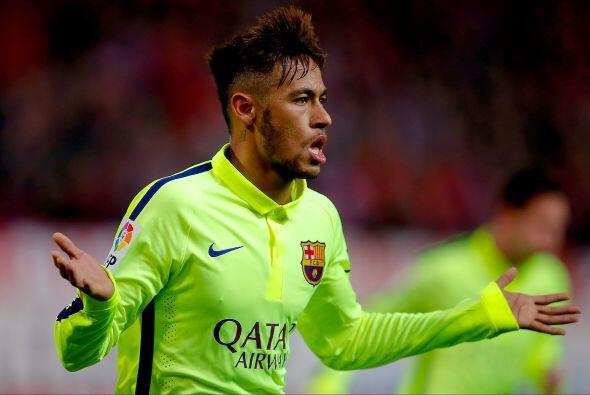 El segundo gol de Neymar llegó tras una polémica en el área del Barcelon...