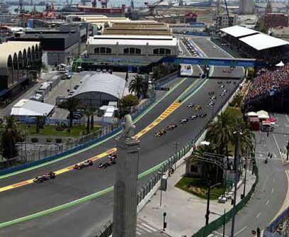 GP de EUROPA, 27 de junioSebastian Vettel ganó el Gran Premio de Europa...