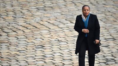 Christiane Taubira, ministra de Justicia de Francia