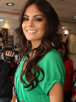 Bellísima, Jimena Navarrete Rosete de 21 años Nuestra Belleza Jalisco.