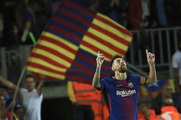 Faena de Messi en la goleada 6-1 del Barcelona sobre Eibar 6364146188246...