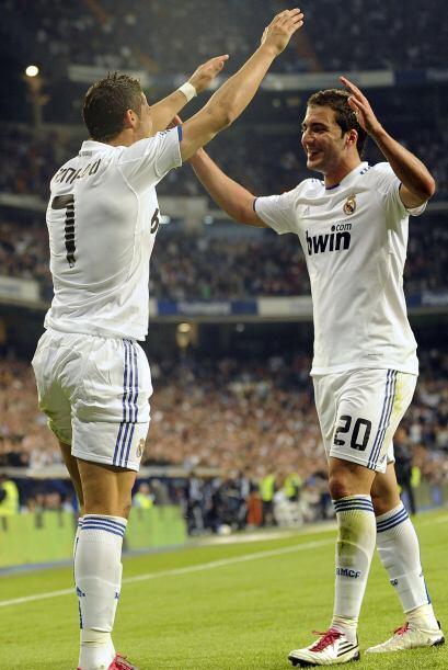 El tercer gol fue obra de Cristiano Ronaldo. La dupla 'CR7-Pipita' está...
