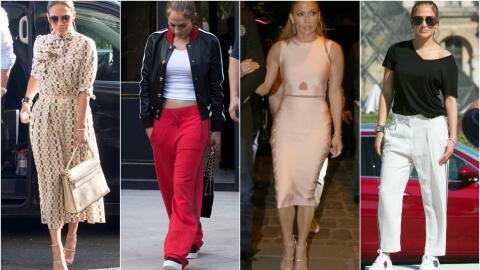 Jennifer Lopez en Paris