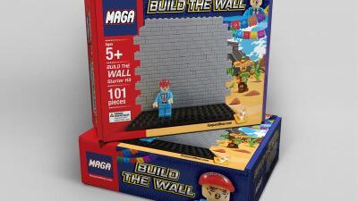 """El juego para que niños """"construyan el muro"""" de Trump genera críticas y todavía ni sale a la venta"""