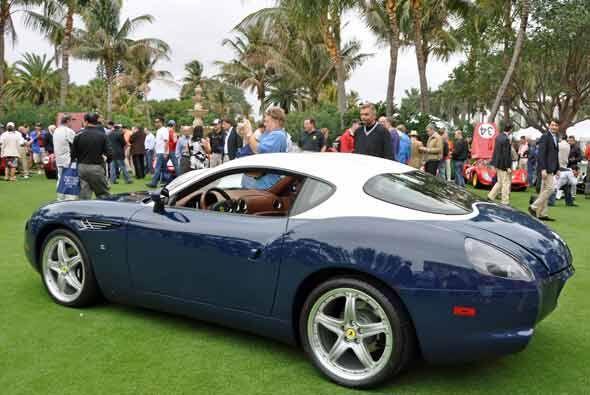 El Ferrari 575 GTZ Zagatto del 2009 es uno de los modelos menos conocido...
