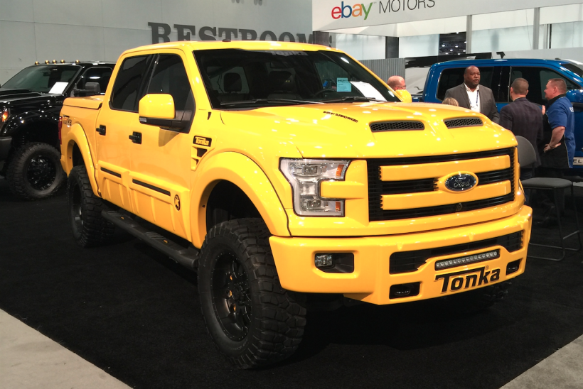 Ford F-150 Tonka 2016