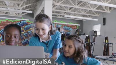 Campamento de ciencia y tecnología para niños en San Antonio