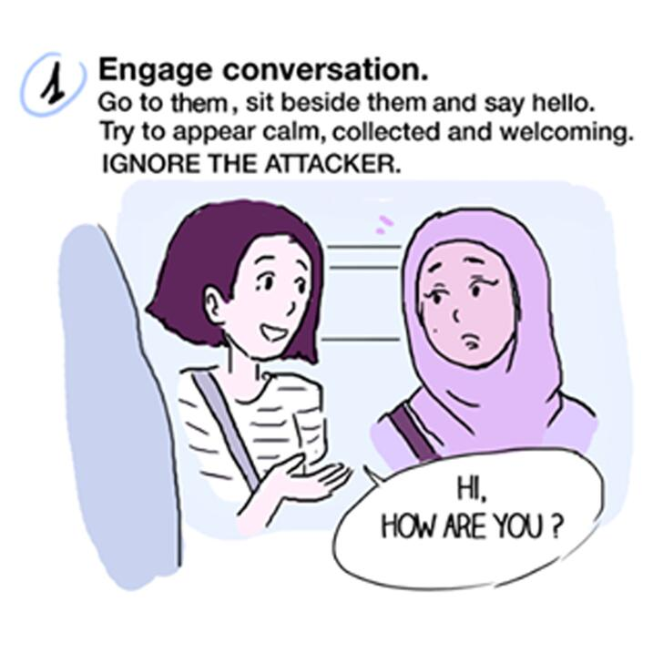 El cómic que enseña cómo intervenir si presencias u...