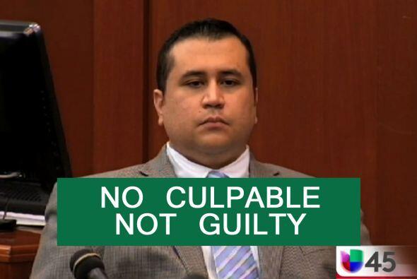 Un jurado declaró No Culpable a George Zimmerman del asesinato del joven...