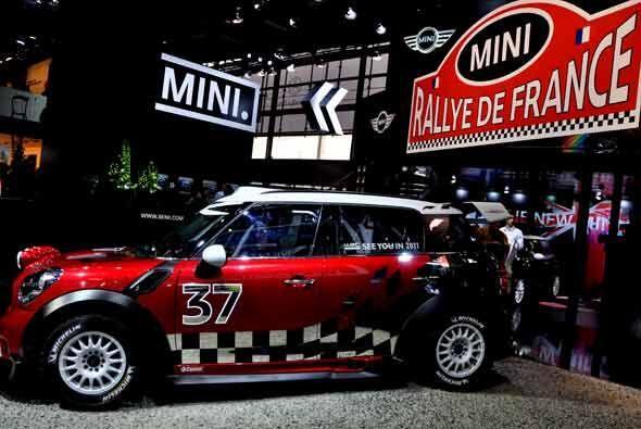 A pesar de sus dimensiones, el MINI ha logrado muchos triunfos en el mun...