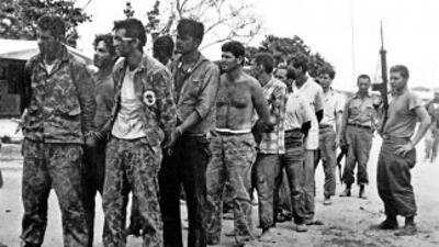 El cubano Arnold Rodríguez Camps, miembro del Movimiento 26 de Julio que...
