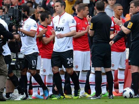 El Manchester United disputó su juego de la fecha 35 de la Liga P...