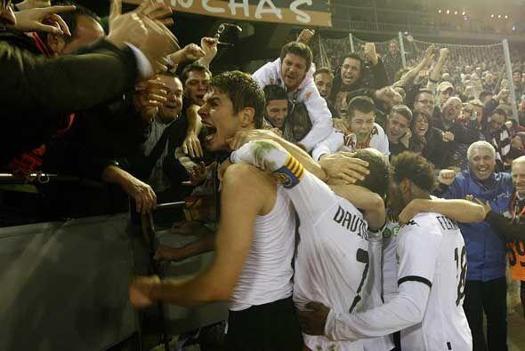 En tiempo de descuento Zigic marcó el único gol del partido, para darle...