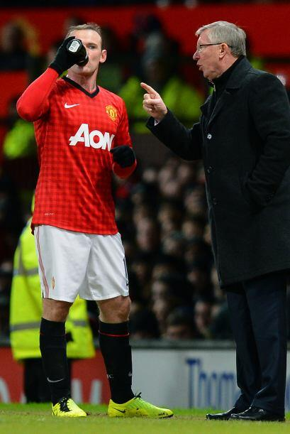 Ferguson le dio instrucciones a 'Wazza', pues no le convencía el juego q...