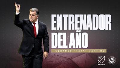 Gerardo 'Tata' Martino es elegido como el Entrenador del Año en la MLS