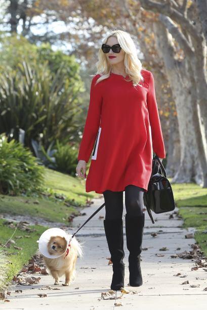 ¡Quién ni estando embarazada deja el 'glamour' es Gwen Stefani! Su 'stre...